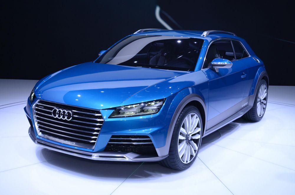 Audi Allroad Shooting Brake. По замыслу создателей это автомобиль «для дорог и для дорожек» с высоким клиренсом и формой кузова типа Shooting Brake. Подготовкой к офф-роуду также служат алюминиевые защитные пластины под передним и задним бампером.