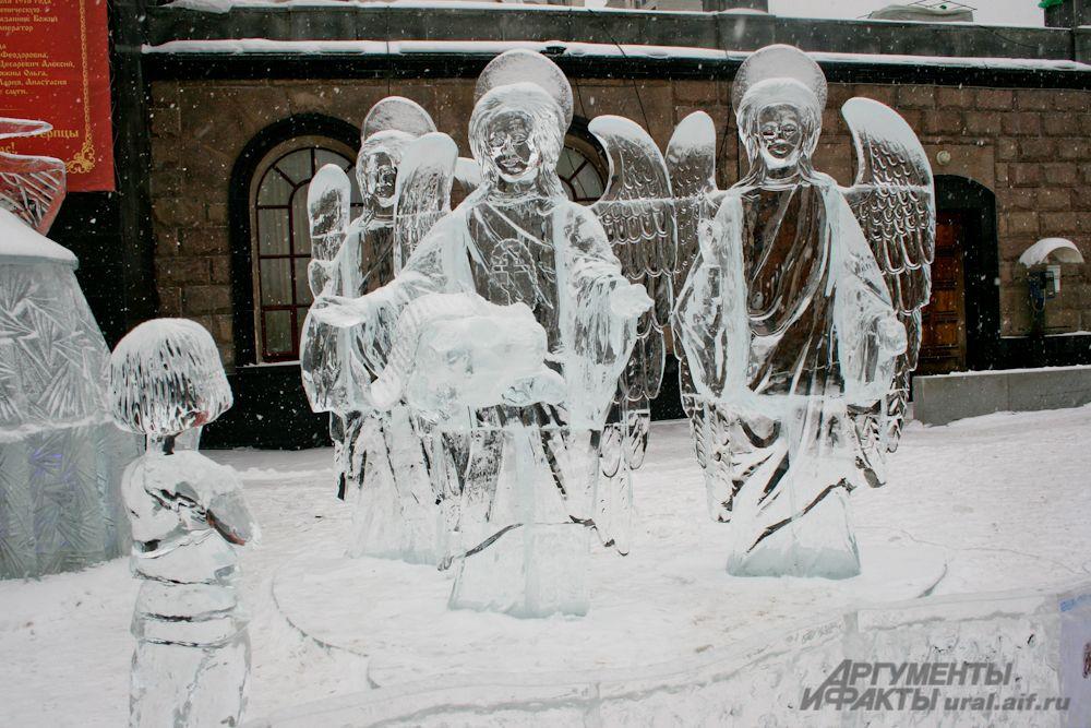 «Вознесение» – работа на первое место. Победители фестиваля Евгений Белых и Иван Зуев приезжали на Средний Урал из Иркутска.