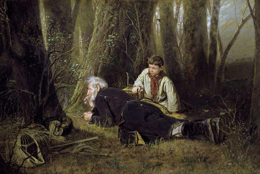 В 1870 году Василий Перов получил от Академии художеств звание профессора, а позже вступил в Товарищество передвижных художественных выставок.