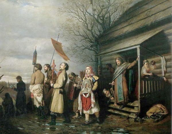 В 1861 году эту картину у Василия Перова купил Павел Третьяков, основатель знаменитой галереи.