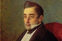 Портрет Александра Грибоедова работы И. Крамского, 1875 год.