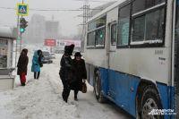 Зимой автобусы нужны не только чистые, но и тёплые.