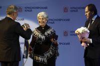 Накануне 2014 года Валентине Павловне Красовской было присвоено звание «Почётный гражданин Красноярского края».