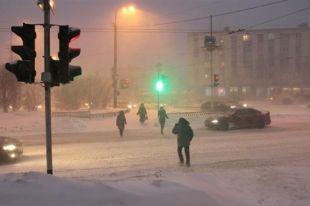 Синоптики предупреждают о метелях на территории Челябинской области