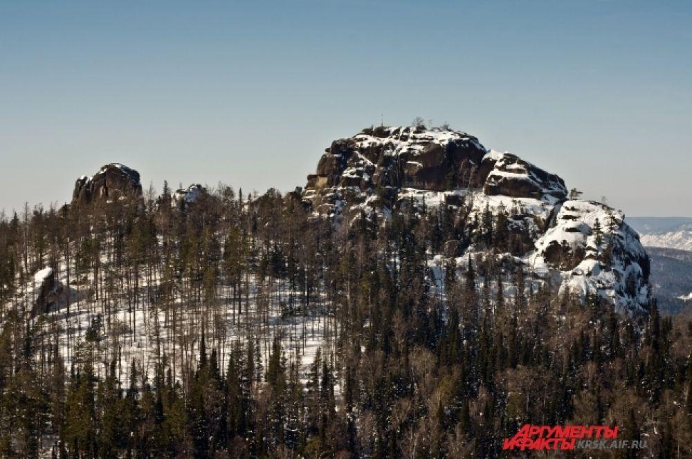 Очертания любимых скал...