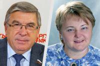 Валерий Рязанский и Ирина Денисова.