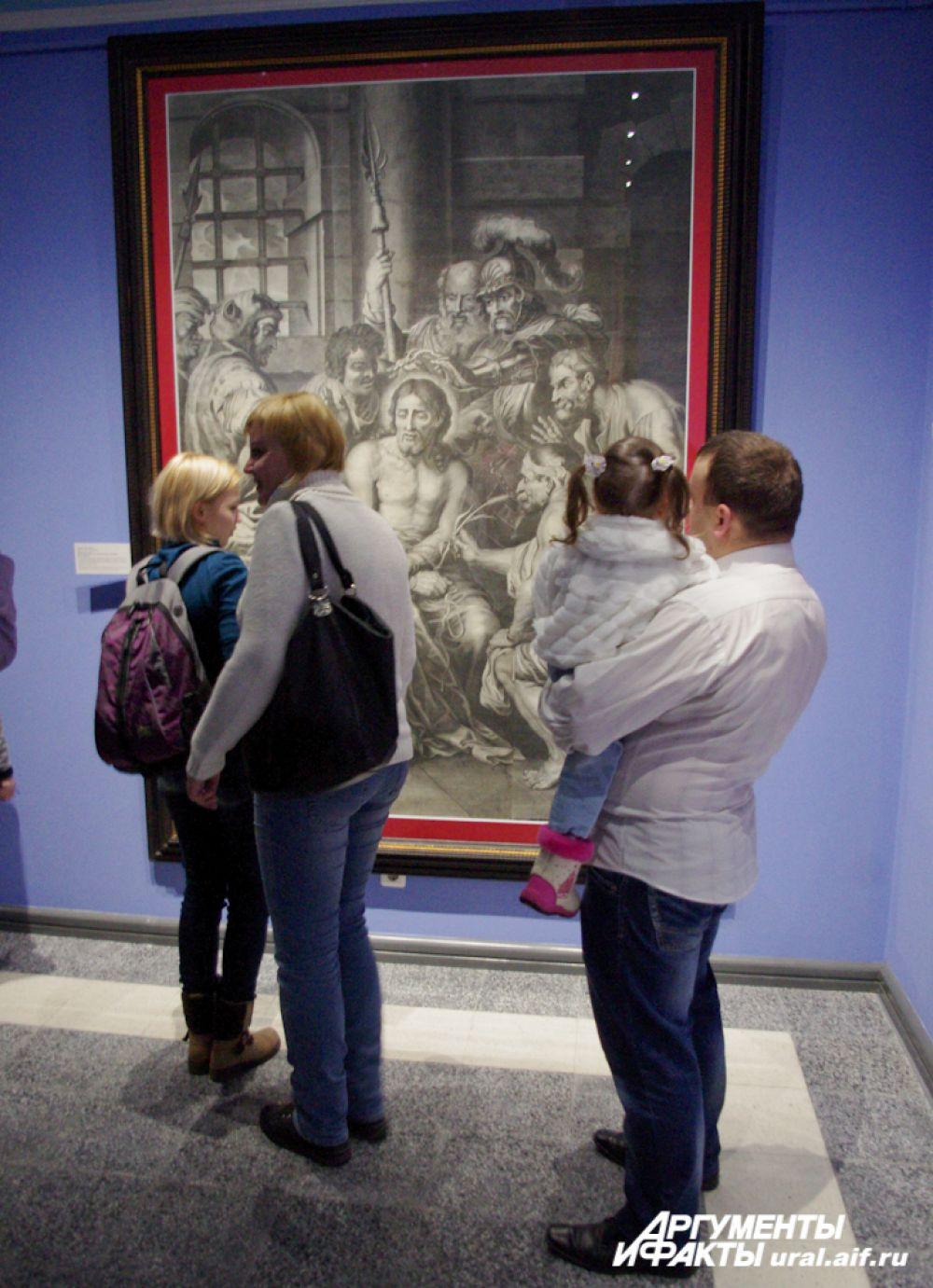Одна из самых больших работ в мире, выполненных в технике гравюры.