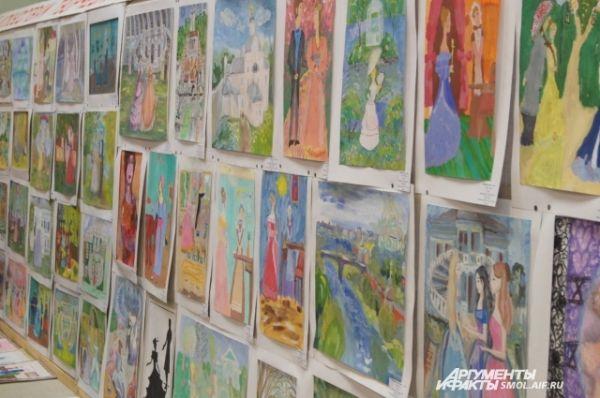 Выставка детских рисунков.