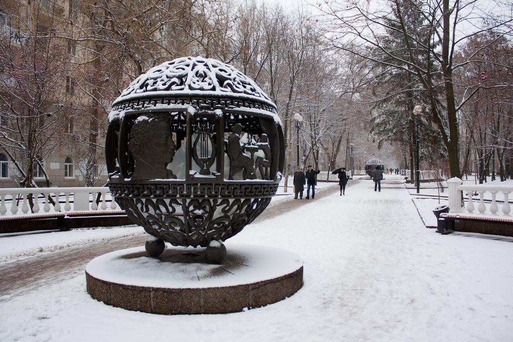 Зимы давно ждала природа