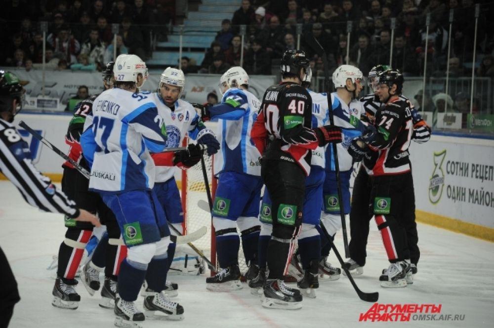 «Авангард» разгромил минское «Динамо» со счётом 7:2