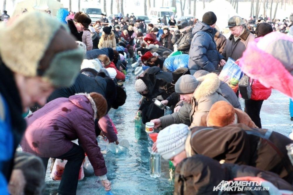 Масштаб забора воды в очередной раз поразил очевидцев.