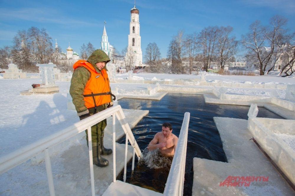 19 января в Казань пришли настоящие Крещенские морозы.