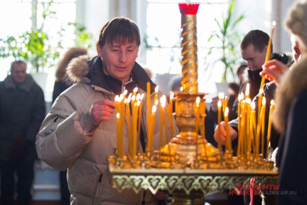 Крещенская служба в Раифском Богородицком мужском монастыре