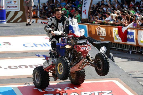 В категории квадроциклов блеснуть удалось россиянину Сергею Карякину на Yamaha. Он одержал победу на десятом этапе и показал третье время на 12-м. В общем зачёте Сергей занял седьмое место, опередив целый ряд более опытных спортсменов.