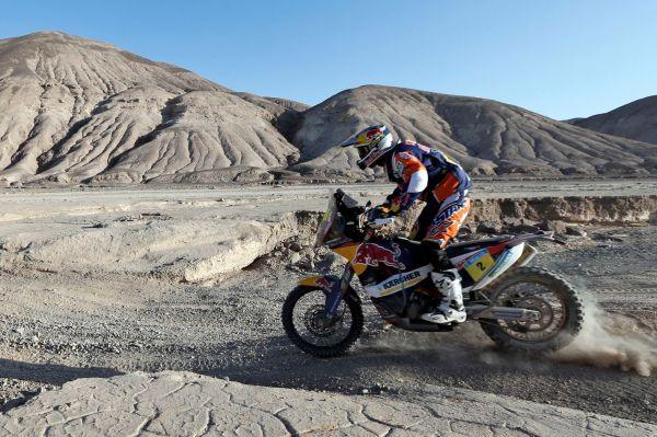 Среди мотоциклистов сильнейшим уже в четвёртый раз в карьере стал испанский пилот Марк Кома (на фото) на KTM, опередивший своего извечного соперника Сириля Депре, представляющего Yamaha.