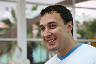 Бобслеист Алексей Воевода.