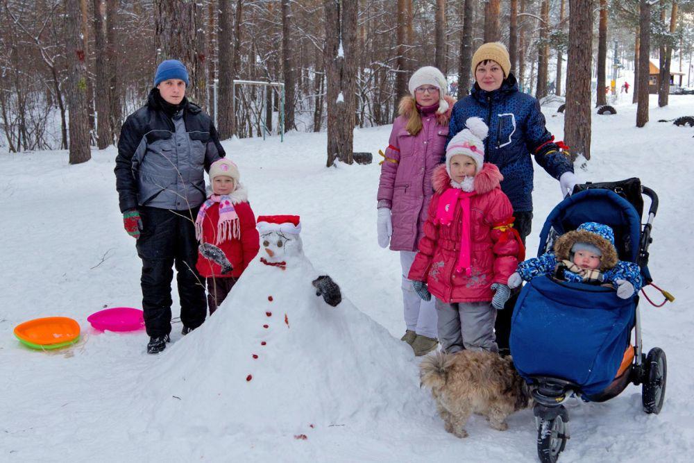 «Художественная лепка» из снега – увлекательное занятие для всей семьи