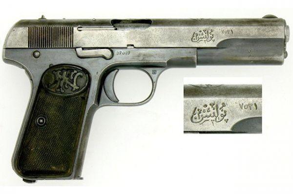 Затем Браунинг спроектировал пистолеты Colt M1900 и Colt M1902, на смену которым пришла одна из наиболее популярных моделей изобретателя – Browning M1903. Этот пистолет состоял на вооружении в Бельгии, Испании, Российской Империи и в фашистской Германии.