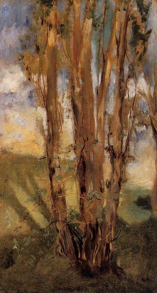 Первая известность пришла к Мане в конце 1850-х годов. Молодого художника часто приглашали в различные салоны, где он завязал ряд знакомств и сдружился с Шарлем Бодлером. Кроме того, Мане регулярно посещал Лувр и оттачивал навыки, рисуя копии известных картин.