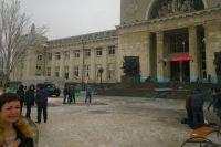 Волгоградский вокзал после теракта.