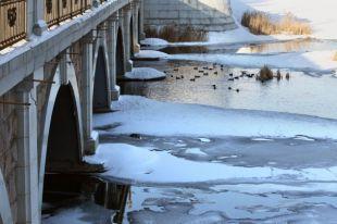 В среду в Челябинской области будет морозно, местами метели