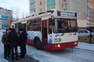 В Челябинске появился новый троллейбусный маршрут до Чурилово. Расписание