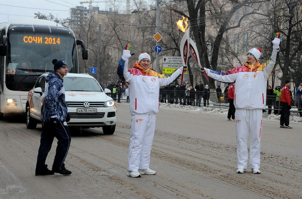 Протяженность ростовского маршрута составила порядка 43 километро