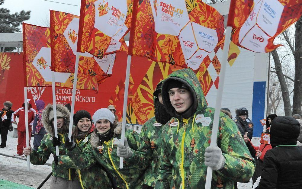 По Ростовской области факел с Олимпийским огнём понесут 412 человек