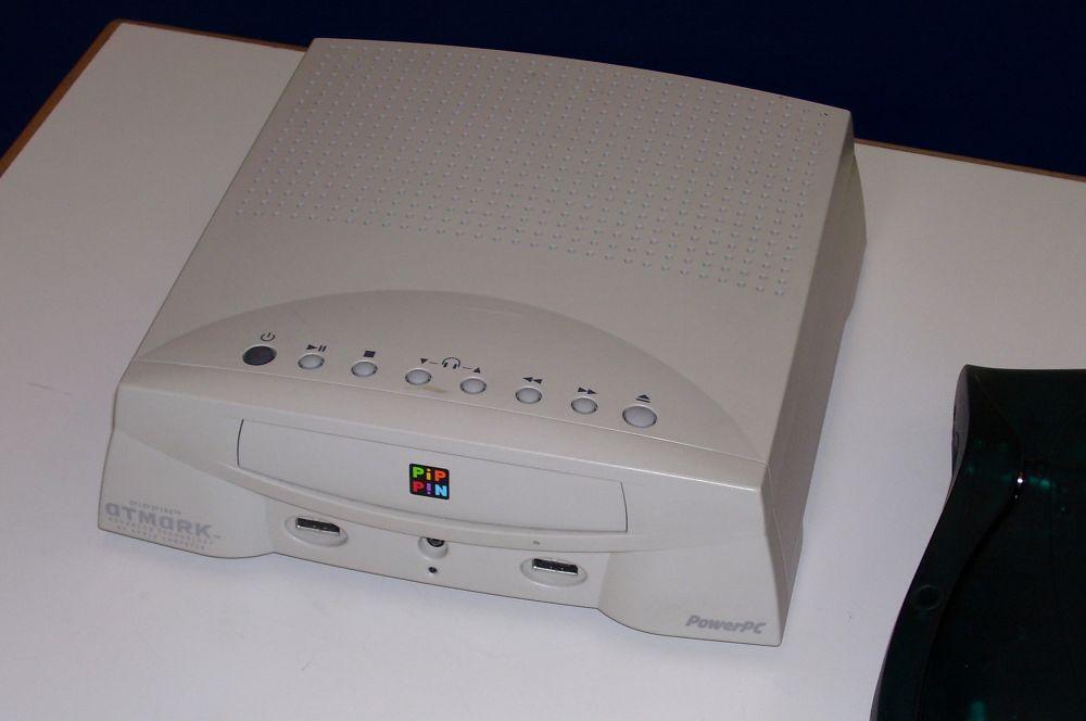 Во второй половине 90-х Apple пришла на рынок игровых консолей, выпустив в 1996 году Bandai Pippin. Первоначальной целью проекта было создание недорогого компьютера, ориентированного на мультимедийные продукты и видеоигры с поддержкой многопользовательского режима. Однако оснащение консоли оказалось заметно слабее, чем в Nintendo 64 и SonyPlaystation, при том, что стоимость Pippin оказалась выше предполагаемой.