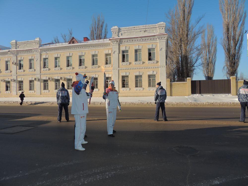 Всего 257 человек приняли участие в эстафете в Волгограде