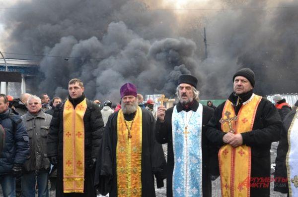 Священники молятся за Украину и ее народ