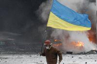 Уличные бои в Киеве.