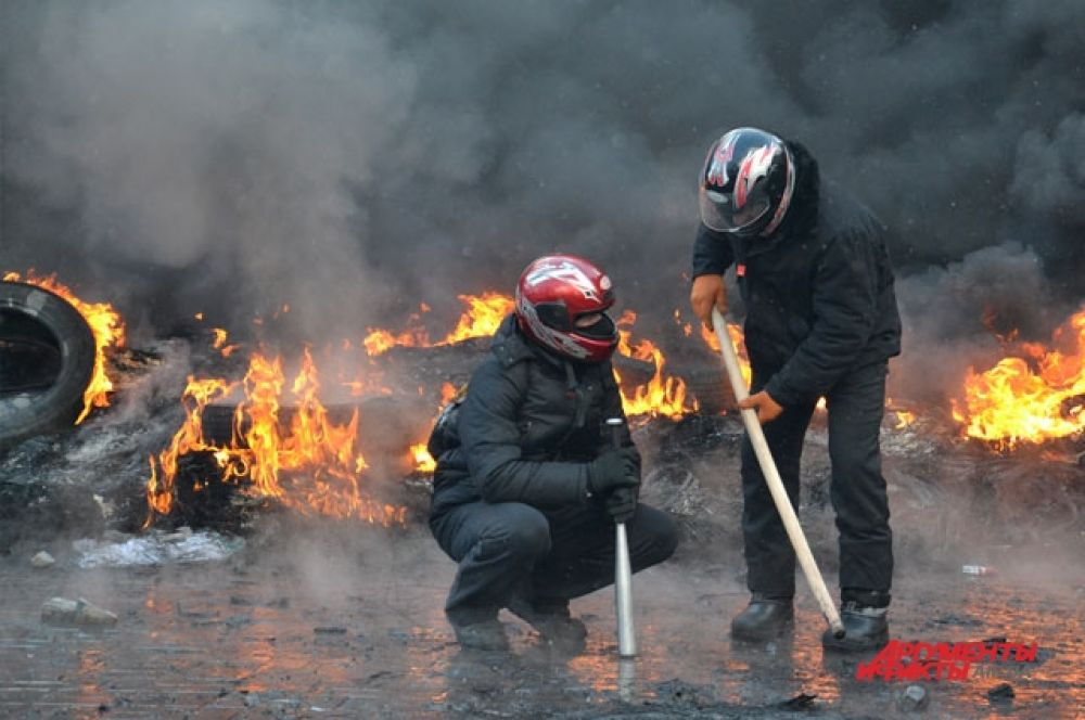 Активисты готовы к отпору в любой момент