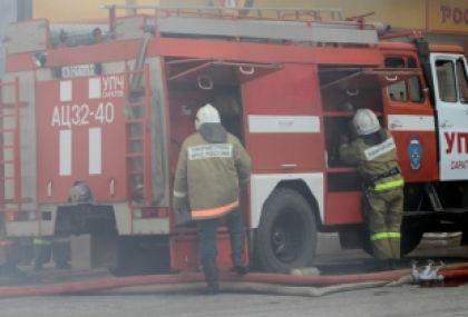 В Заельцовском районе горел дом культуры