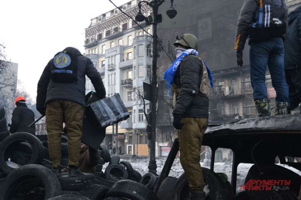 «Ультрас» киевского «Динамо» также в числе демонстрантов