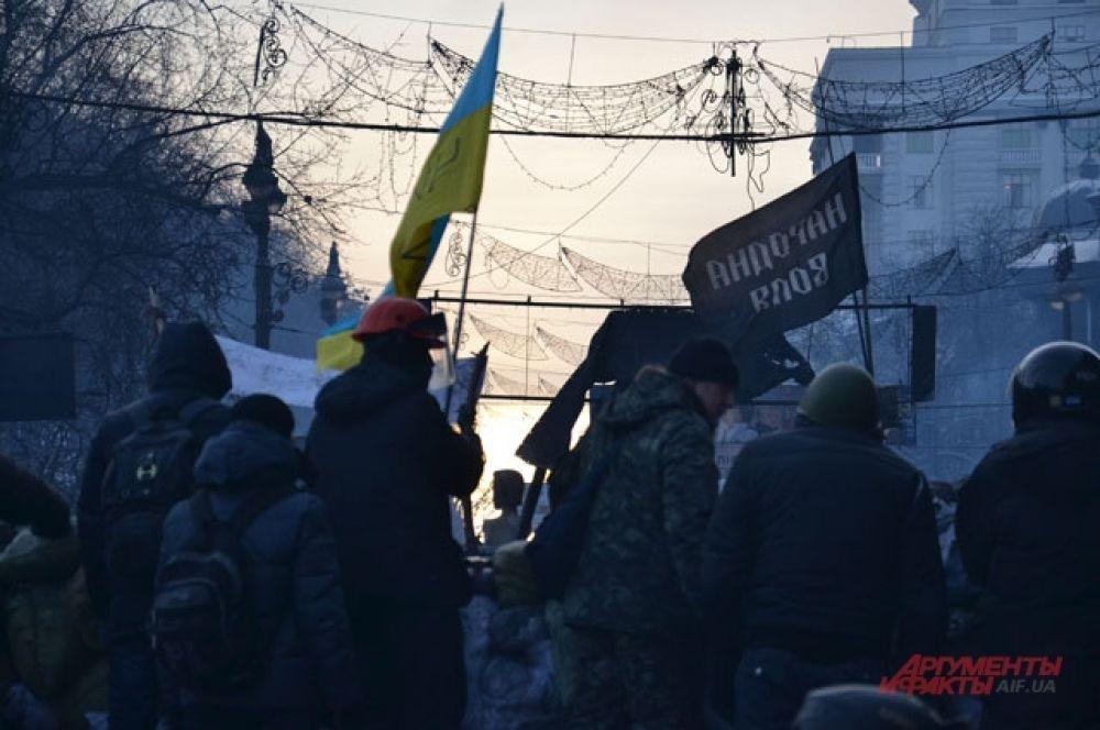 Некоторые из активистов Евромайдана – представители общественных организаций и объединений