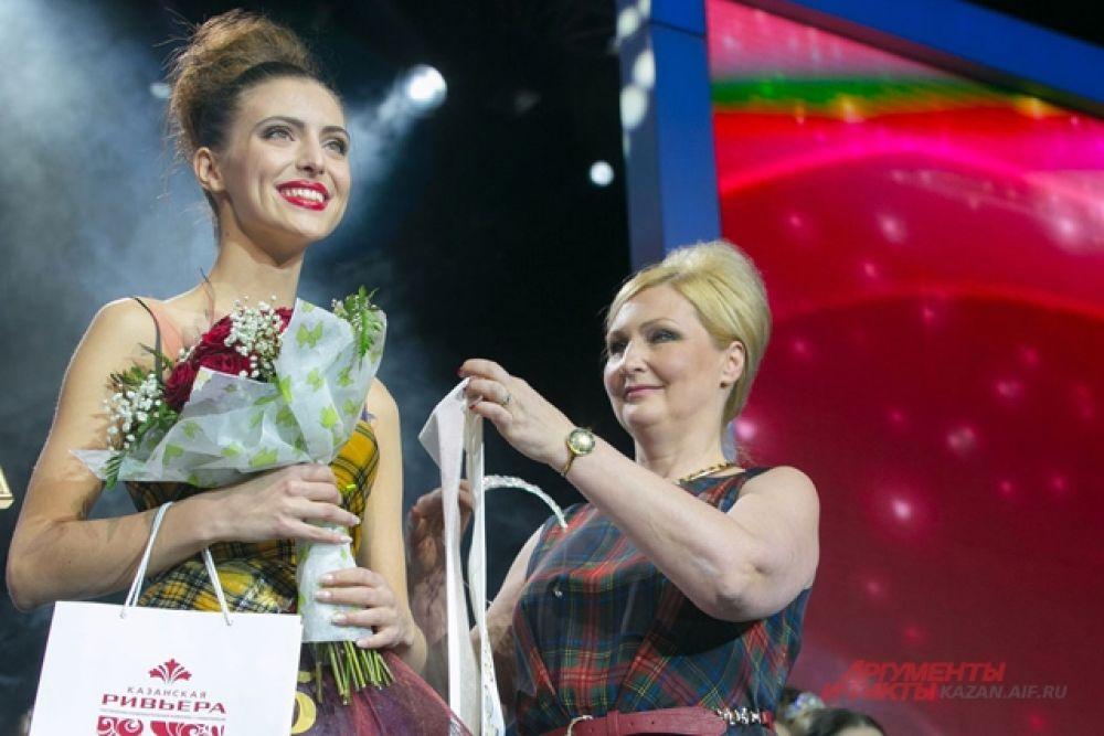 1-ая Вице-Мисс София Егорова из Зеленодольска
