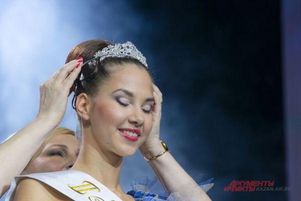 2-ая Вице-Мисс Мария Колесникова, уже завоевавшая титул Мисс Фитнес