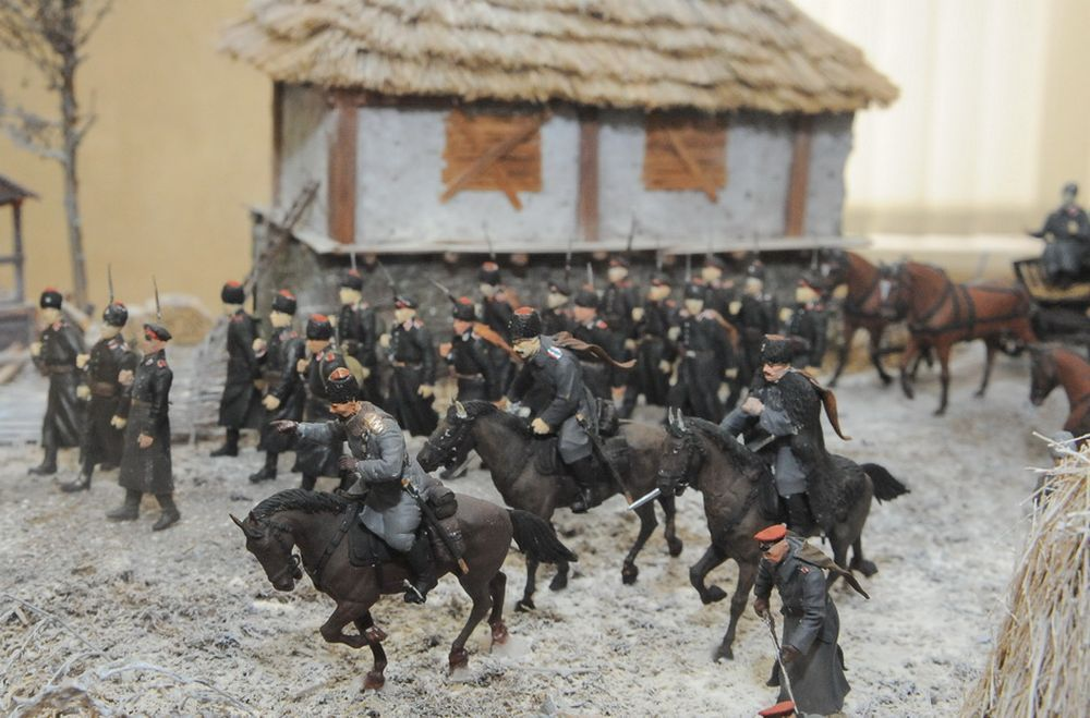 Особым интересом создателей диорам стали трагические события гражданской войны на Дону и в целом на Юге России и события Великой Отечественной войны