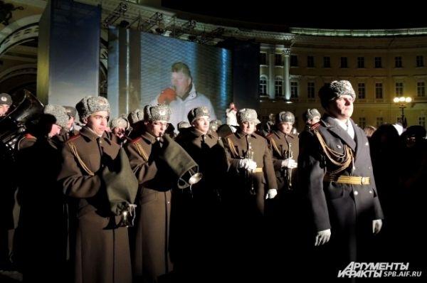 Оркестр сыграл «Песню о Ладоге»