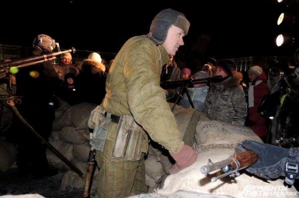 Петербуржцы смогли побывать в военном укреплении