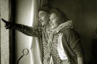 Сальвадор Дали и Елена Дьяконова (Гала Дали), 1957 год.