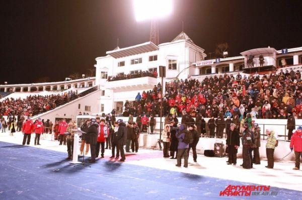 Торжественное открытие Чемпионата стотоялось 26 января.