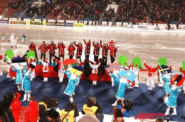 Всего в играх будут участвовать 17 команд из разных стран.