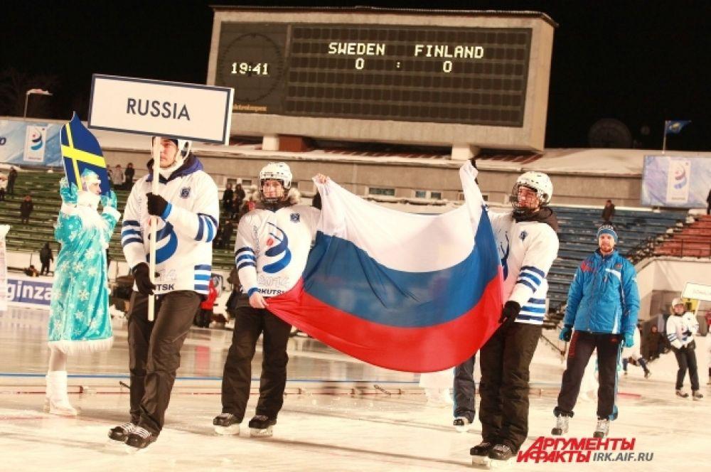 Представители сборной России.