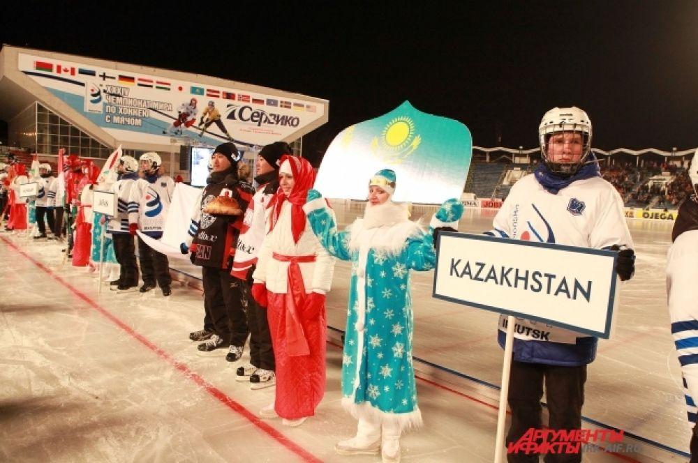 Сборная Казахстана.