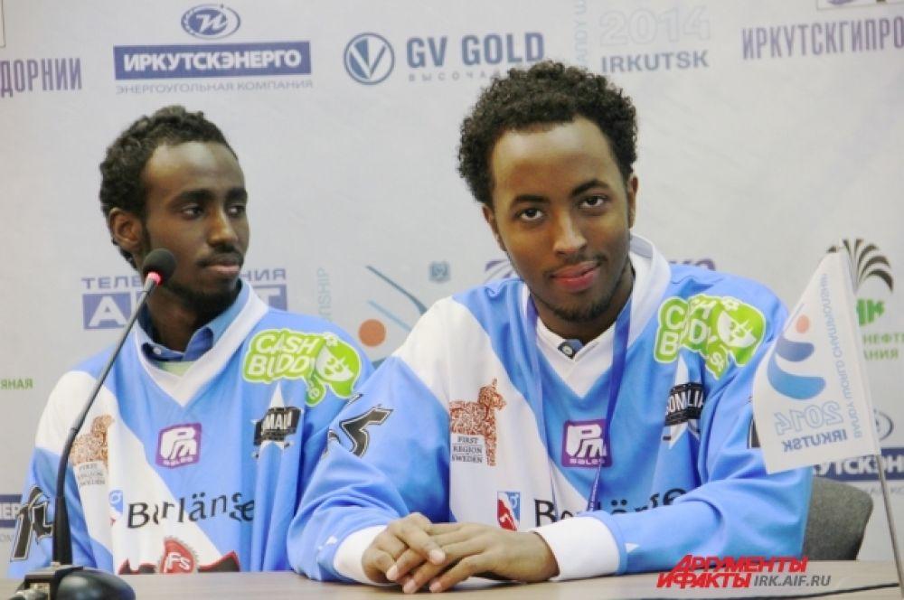 Для сборной даже была устроена персональная пресс-конференция.