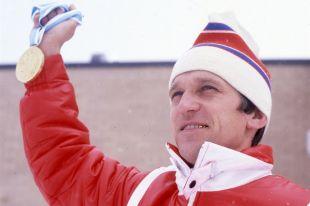 Александр Тихонов на Олимпиаде-80 в Лейк-Плэсиде.