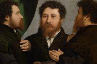 Лоренцо Лотто «Тройной портрет ювелира», 1525–1535, Художественно-исторический музей, Вена.