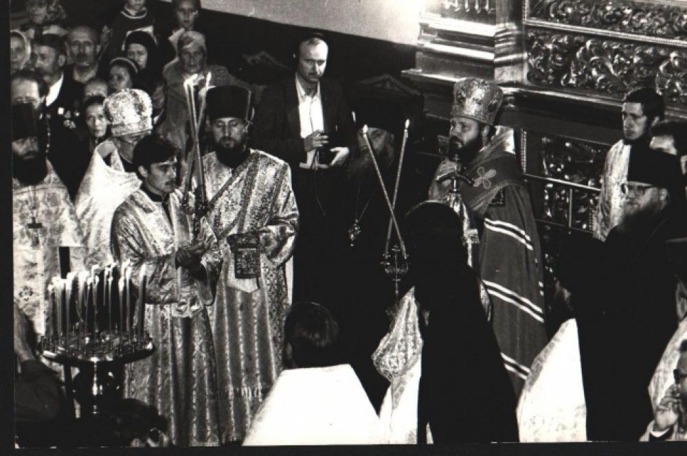 Акафист пред иконой Божией Матери «Одигитрия».1980-е гг.